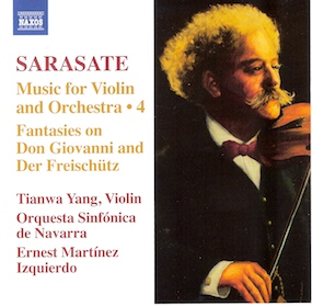 Sarasate - music for violin and orchestra 4