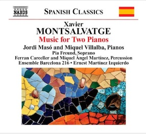 Xavier Montsalvatge - Music for two pianos